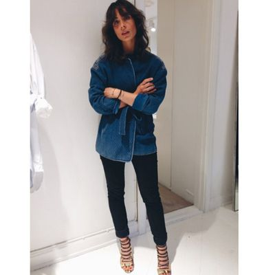 <p>A tie-up jacket is a fun update to your winter wardrobe, and the trend will take you through to spring.</p>