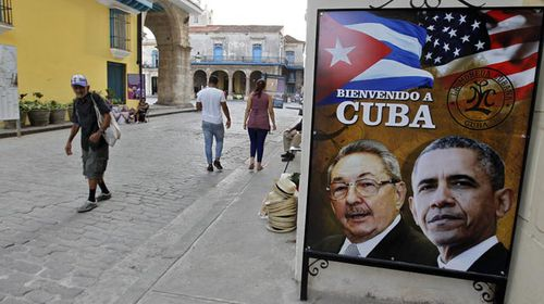 The streets of Havana's old town on the eve of President Obama's visit. (Getty)