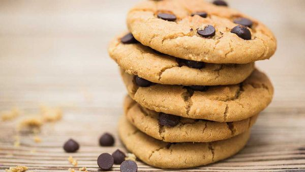 Allergy friendly chickpea cookies