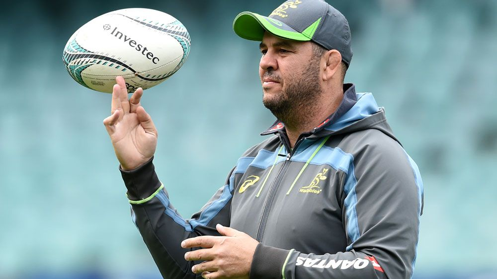 Wallabies coach Michael Cheika says he's far from satisfied despite guiding his team to a drought-breaking win over South Africa.(AAP)