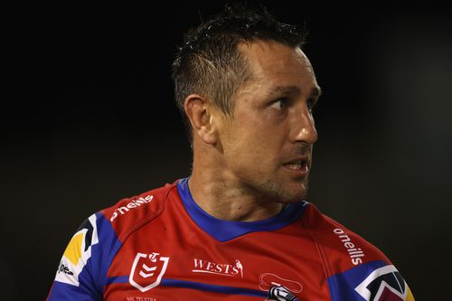 One of the phone calls released by the court was between Hayne and Mitchell Pearce (pictured).