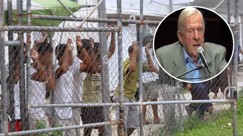 Retired 88-year-old Aussie judge offers to swap places with refugee on Manus Island or Nauru