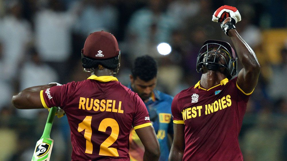 West Indies beat Sri Lanka in World T20
