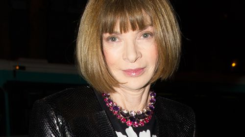 American Vogue editor-in-chief Anna Wintour. (AAP)