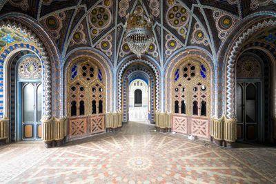 Castle of Sammezzano in Alessandria, Italy