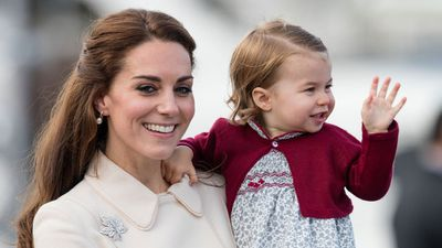 Princess Charlotte during the Royal Tour of Canada, October 2016