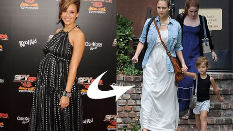 Jessica Alba's post-baby body
