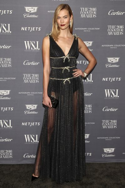 Karlie Kloss attends the WSJ Magazine Innovator Awards at The Museum of Modern Art on Wednesday, Nov. 2, 2016, in New York.