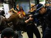 Sydney protesters hit with pepper spray