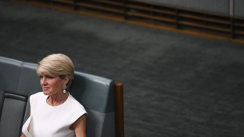 Julie Bishop got just 11 votes in the party room for her prime ministerial bid.