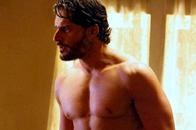 <B>The werewolf:</B> In <I>True Blood</I>'s third season, telepathic heroine Sookie Stackhouse (Anna Paquin) encounters werewolf Alcide Herveaux (Joe Manganiello), whose muscles and body heat she's drawn to after months of dating a cold-blooded vampire.<br/><br/><B>Scare factor:</B> While many of <I>True Blood</I>'s werewolves are downright psychotic, Alcide ain't one of them. The most terrifying thing about this strapping wolf is his penchant for flannelette.