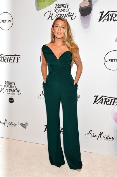 Actress Blake Lively at Variety's Power of Women Gala in New York at Cipriani in April, 2017