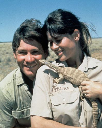 Bindi Irwin, Steve Irwin, Terri Irwin