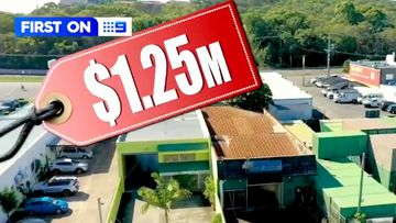 A record-setting price has been paid for an industrial shed on the Gold Coast, with its owner forking out more than $1 million to turn the location into a man cave.