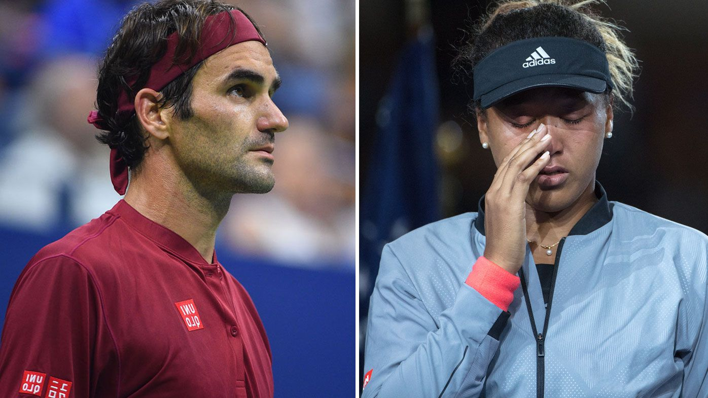 US Open: Roger Federer throws support behind Naomi Osaka following heart breaking admission