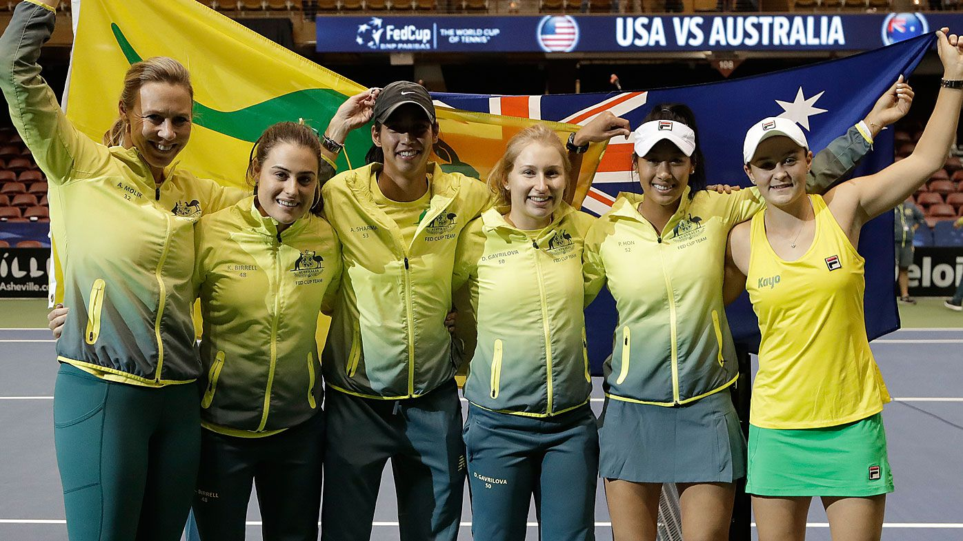 Queensland put hand up to host Fed Cup semi-final against Belarus