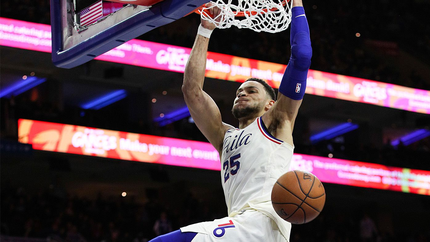76ers charge past Hornets in NBA