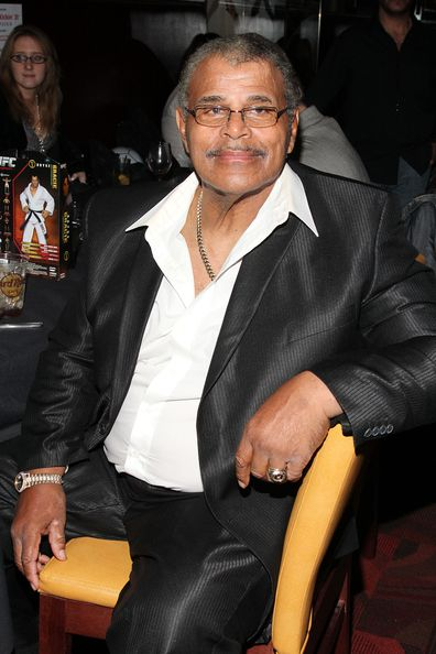 "Rocky Johnson attends ""Unite in the Fight... to Knockout Bullying"" at the Hard Rock Cafe New York on October 20, 2011 in New York City"
