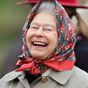 What had the Queen giggling during her most recent video call