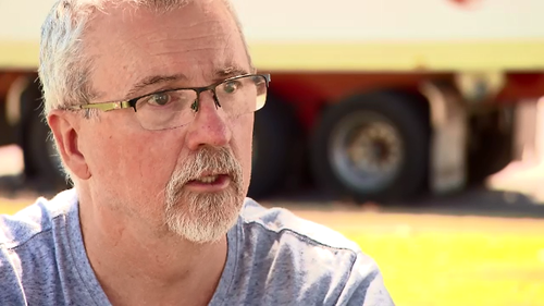 Truck driver Wayne Davey caught the crash on his dashcam and called emergency services.