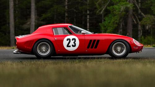 Just 36 of the legendary cars were built. Picture: Sotheby's