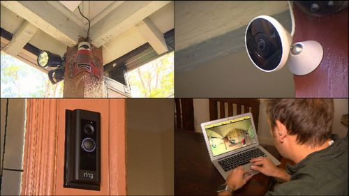 As far as the couple are concerned the 'smart doorbell' has well and truly paid for itself. (9NEWS)