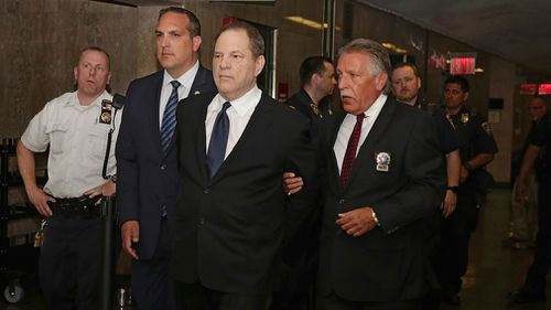 Weinstein has been granted bail after pleading not guilty to three new sex assault charges. Picture: AAP