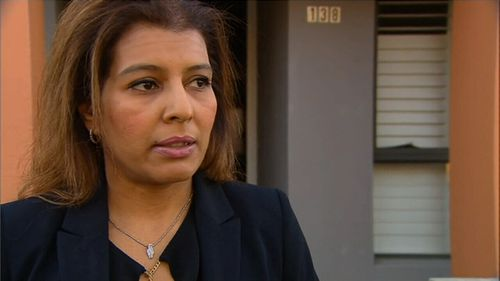 Resident Baljit Kuar's car was one of three that was slammed into. Picture: 9NEWS
