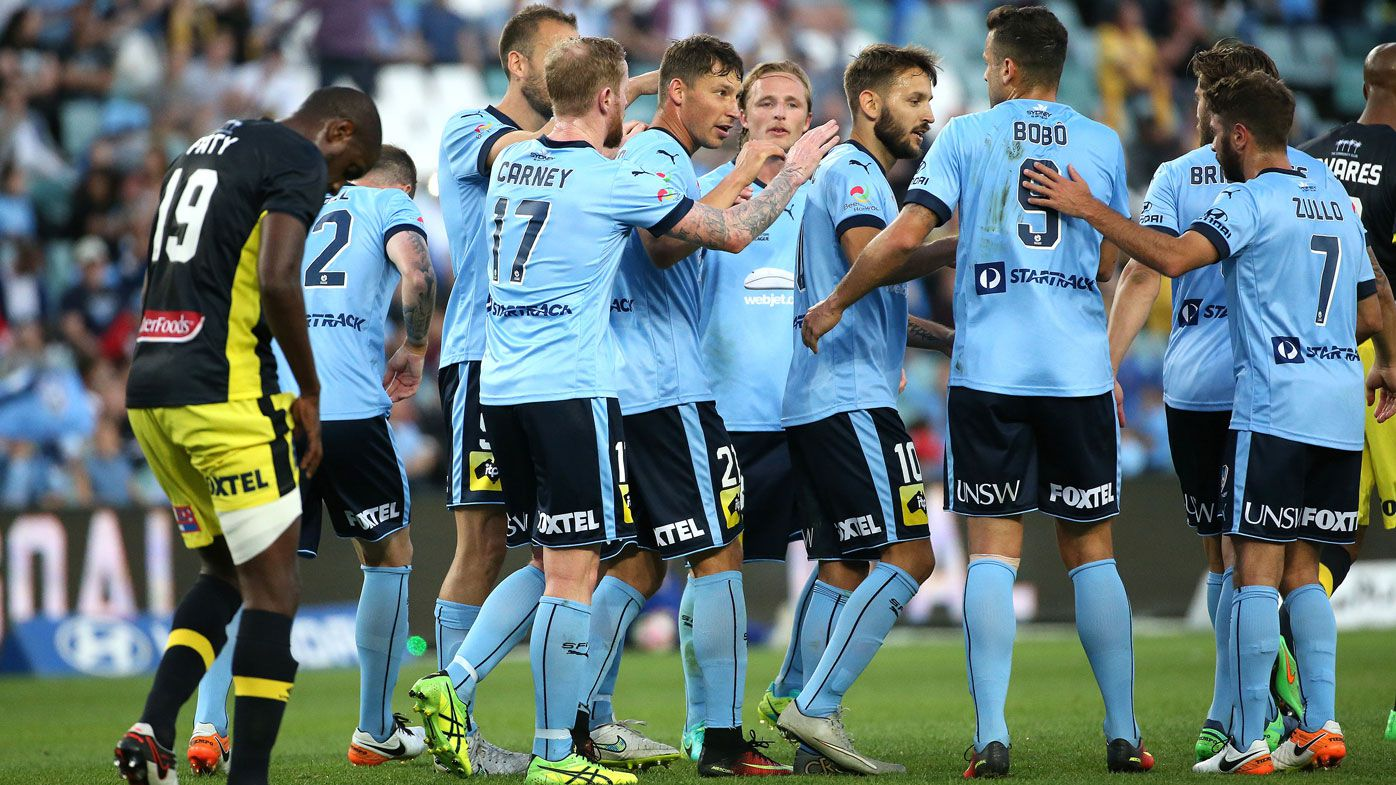 Sydney FC put 4 past Mariners in A-League