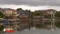 Lakeside residents accused of trespassing with own pontoons
