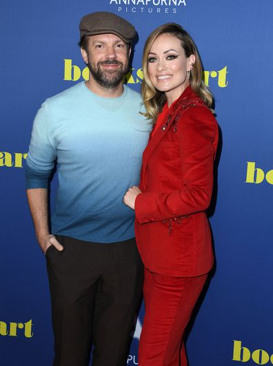"""Jason Sudeikis and Olivia Wilde arrives at the LA Special Screening Of Annapurna Pictures' """"Booksmart"""" at Ace Hotel on May 13, 2019 in Los Angeles, California."""