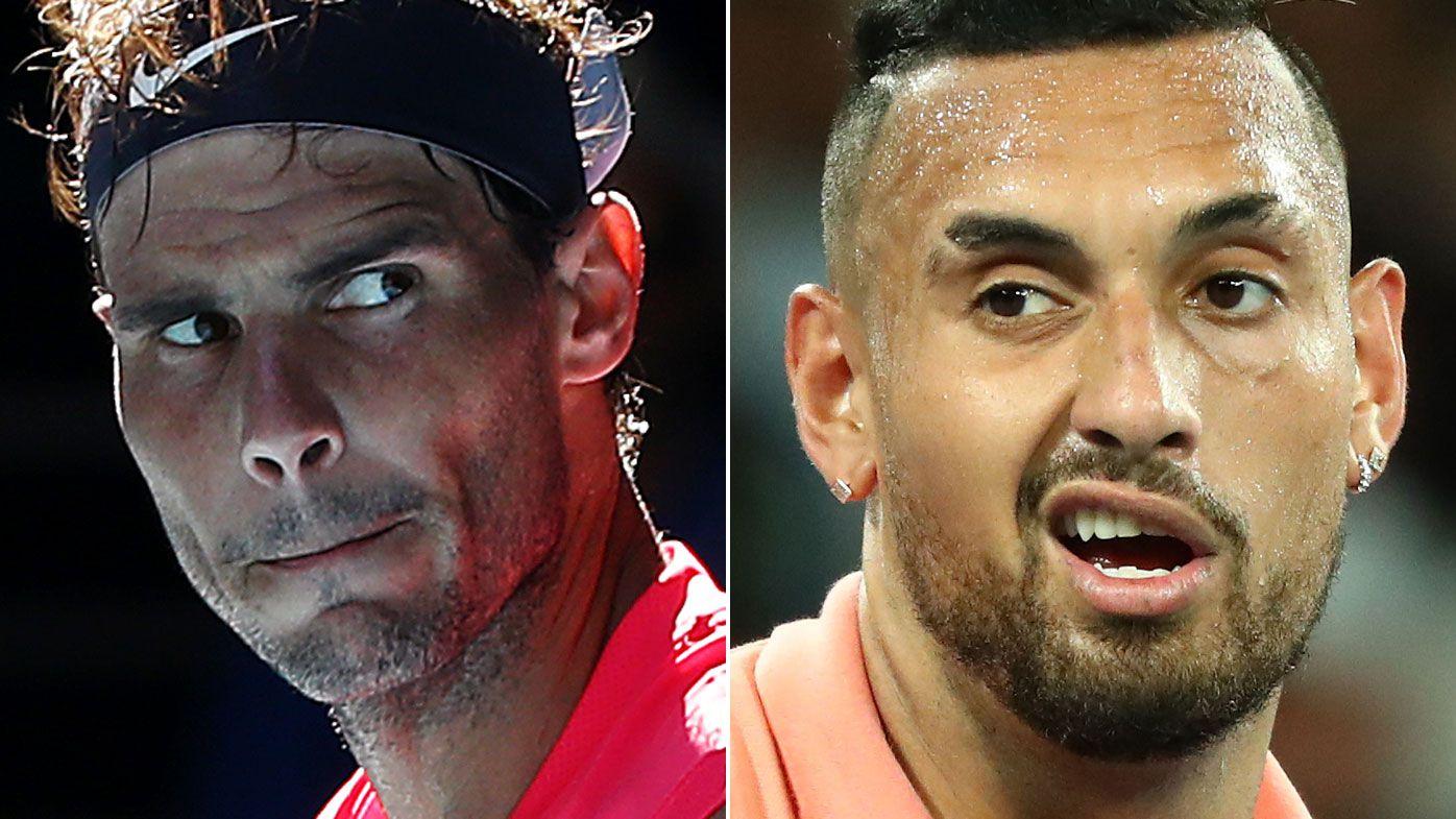 Nick Kyrgios feud with Rafael Nadal counterproductive, Todd Woodbridge says