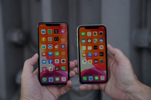 "Design wise, the iPhone 11 features ""the toughest glass on a smartphone"" both front and back."