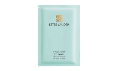 "<a href=""http://www.esteelauder.com.au/product/681/9486/Product-Catalog/Skincare/Stress-Relief-Eye-Mask"" target=""_blank"">Stress Relief Eye Mask, $65, Estee Lauder</a>"