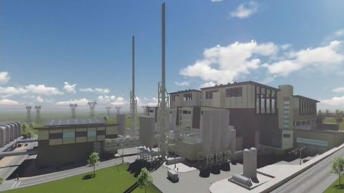 If it goes ahead, the incinerator will be the largest waste and recycling facility in the country. (9NEWS)
