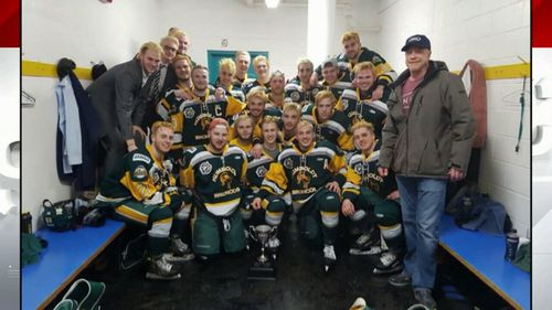 The Humboldt Broncos of the Saskatchewan Junior Hockey League were travelling to a playoff game when their bus crashed. They're all aged between 16 and 21 years old.