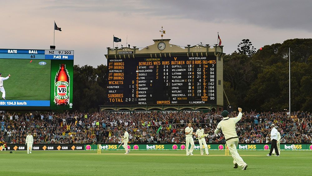 Adelaide Oval will host its third day/night Test. (AAP)