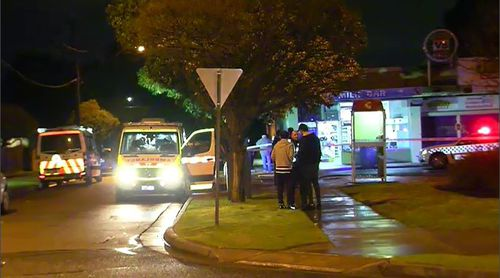 No arrests have been made over the assault, however authorities are investigating the scuffle. Picture: 9NEWS.
