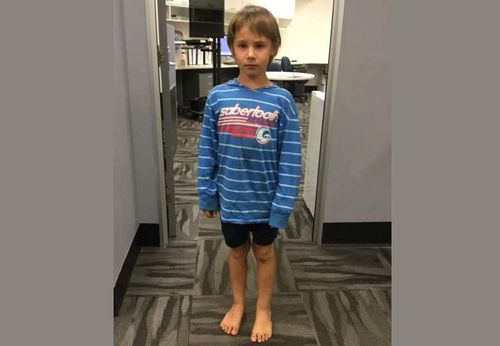 Police are looking for this boy who went missing in Queensland overnight.