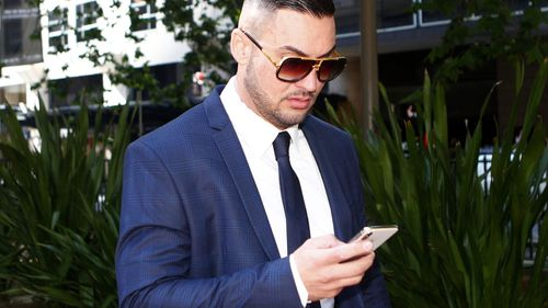 Mehajer has been sentenced to a three-year good behaviour bond for assaulting a taxi driver. (AAP)