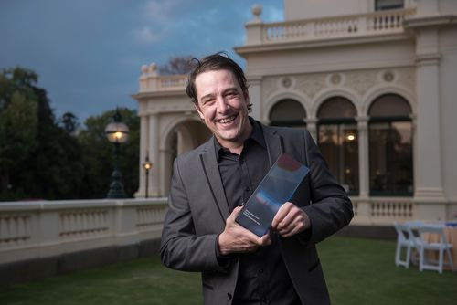 Samuel Johnson has been named as Victoria's Australian of the Year. (AAP)