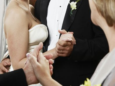 Bride asks mother in law to leave wedding reception.