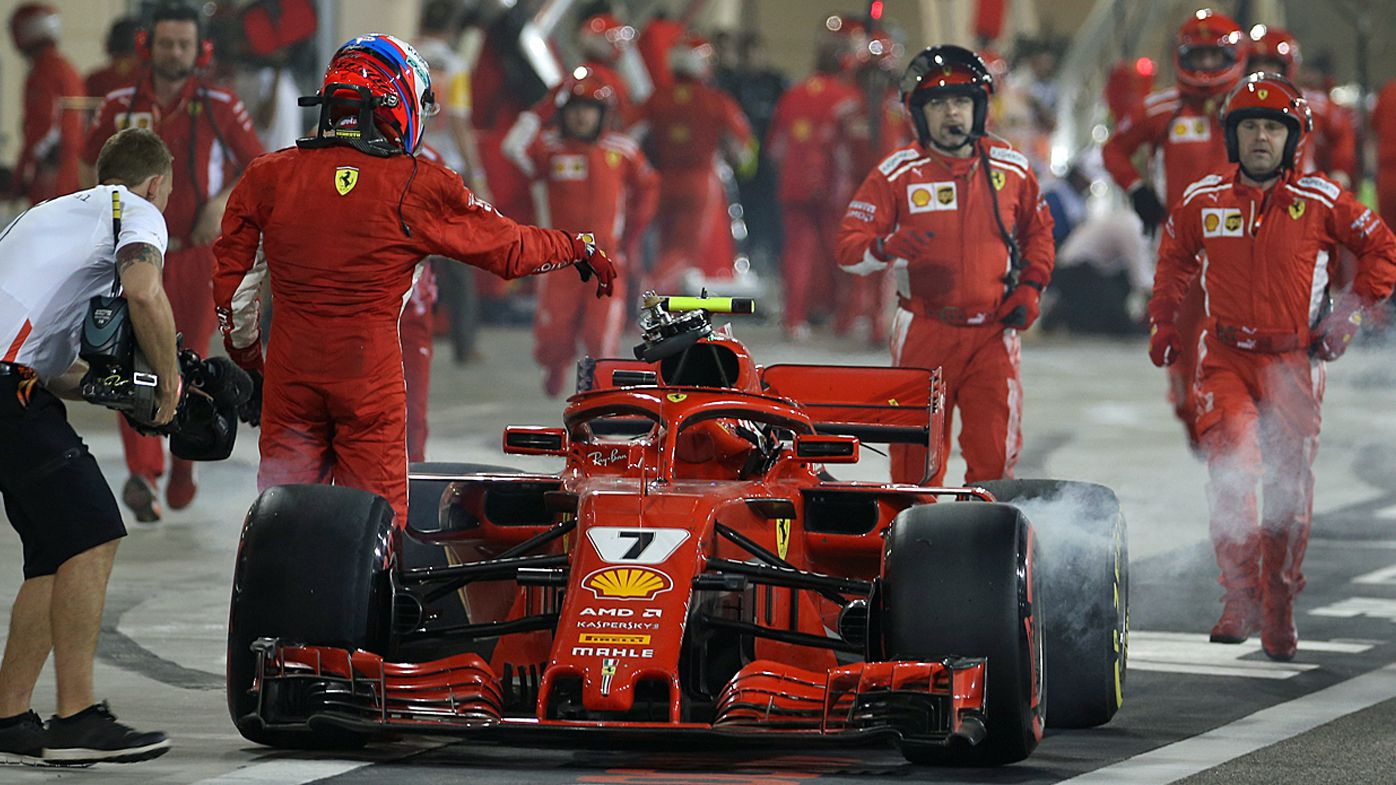 Ferrari mechanic on the mend after surgery following Bahrain Grand Prix accident