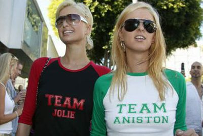 And Hollywood picked a side too! <br/><br/>Now where to find these printed tees...?<br/><br/>Source: Getty <br/>