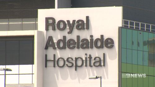 """Steven Marshall from the Liberal Party said they were """"100 percent committed to the co-location"""" of the hospitals. (9NEWS)"""