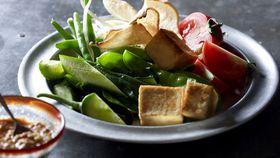 Janet DeNeefe's gado gado (vegetables in peanut sauce)