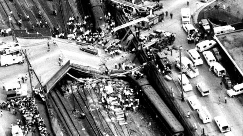 On 18 January, 1977 a crowded commuter travelling from Blue Mountains to Sydney was derailed and struck the supporting pillars of Bold Street Bridge. The accident killed 83 of the passengers and injured more than 200 others.