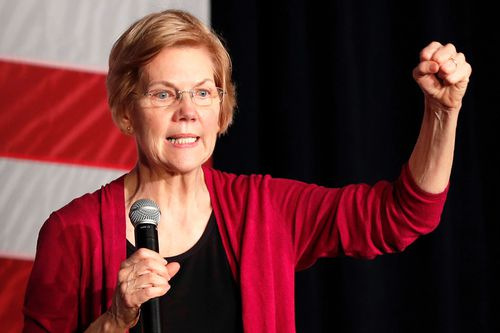 "Democratic Senator Elizabeth Warren made her bid for the presidency official today, grounding her 2020 campaign in a populist call to fight economic inequality and build ""an America that works for everyone""."
