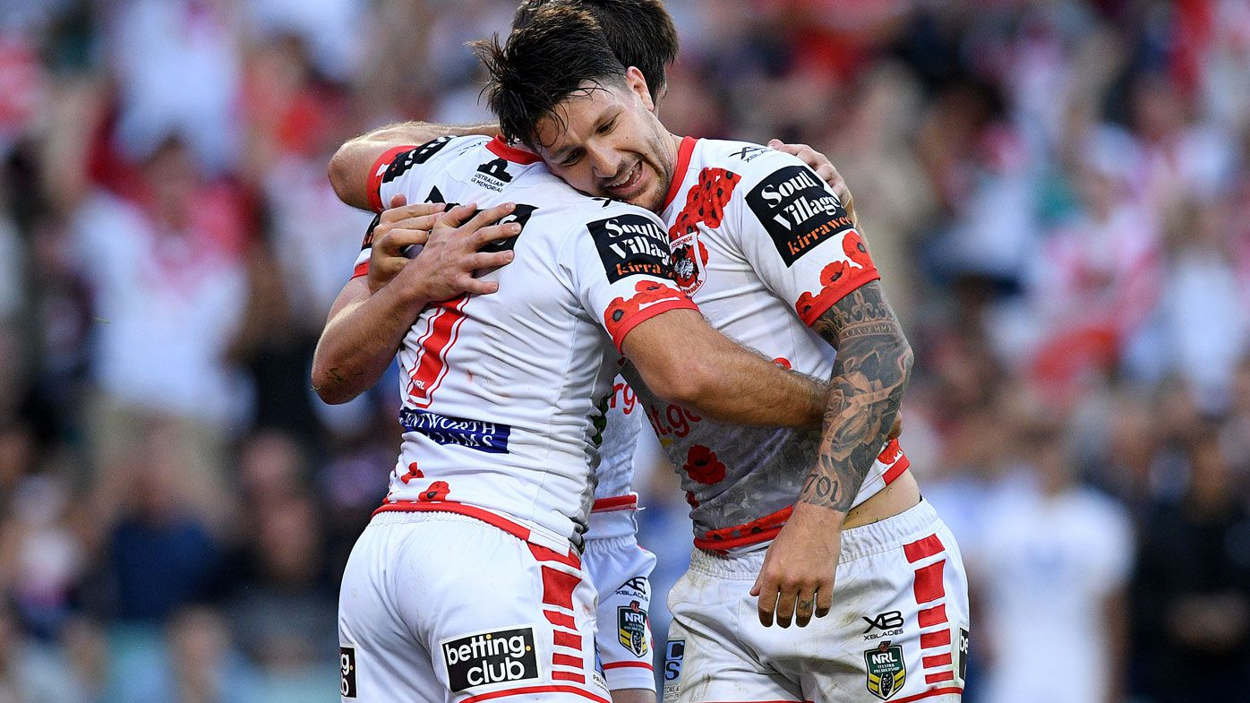 Gareth Widdop and Ben Hunt are key for the Dragons.