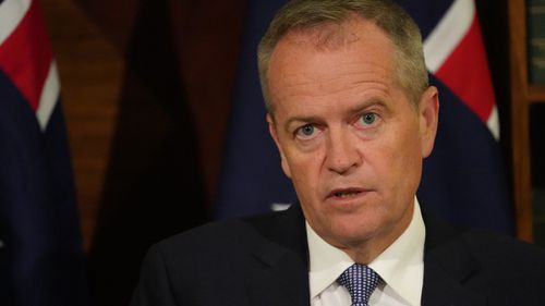 Bill Shorten accused the government of dragging its feet on establishing an anti-corruption commission.